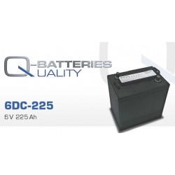 Batería Quality de 6V y 225AH (Pedido mínimo 6 und)