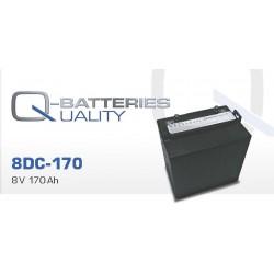 Batería Quality de 8V y 170AH (Pedido mínimo 6 und)