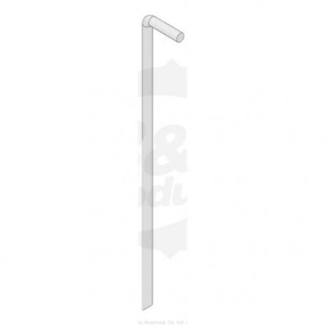 Pincho macizo de aguja 5 mm largo 165mm
