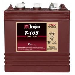 Batería Trojan T105 de 6V y 225AH