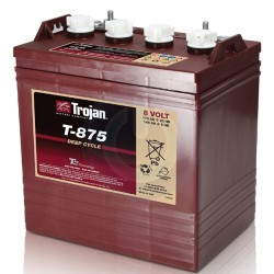 Batería Trojan T875 de 8V y 170AH